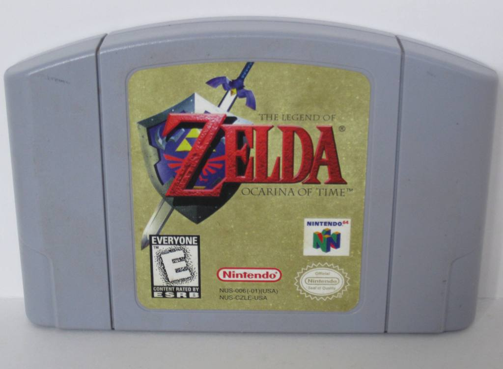 Legend of Zelda: Ocarina of Time - N64 Game